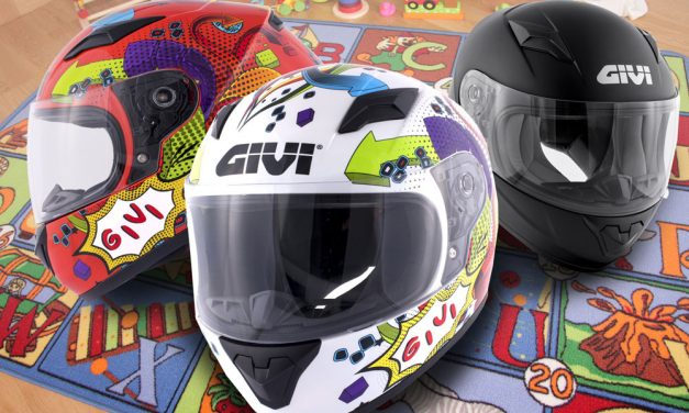 Conoce el nuevo casco de moto para niños de Givi