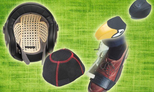 Sotocascos y protector calzado de Tucano Urbano