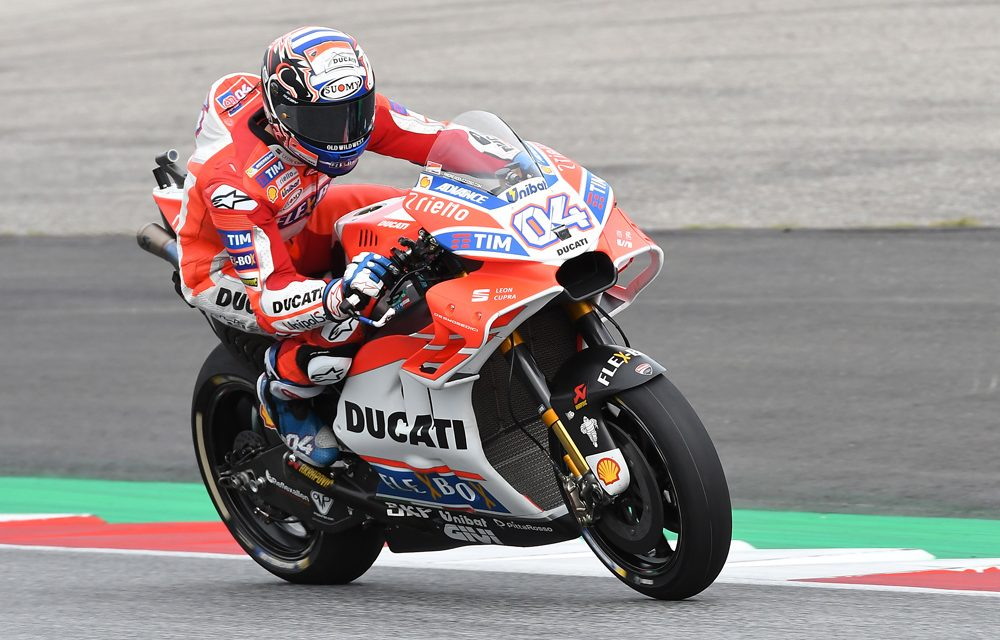 Dovizioso rompe la racha de victorias de Márquez en MotoGP Austria