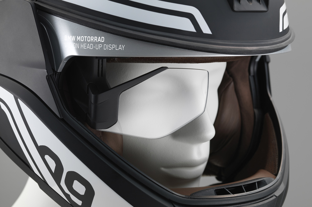 Casco de moto BMW Head Up Display
