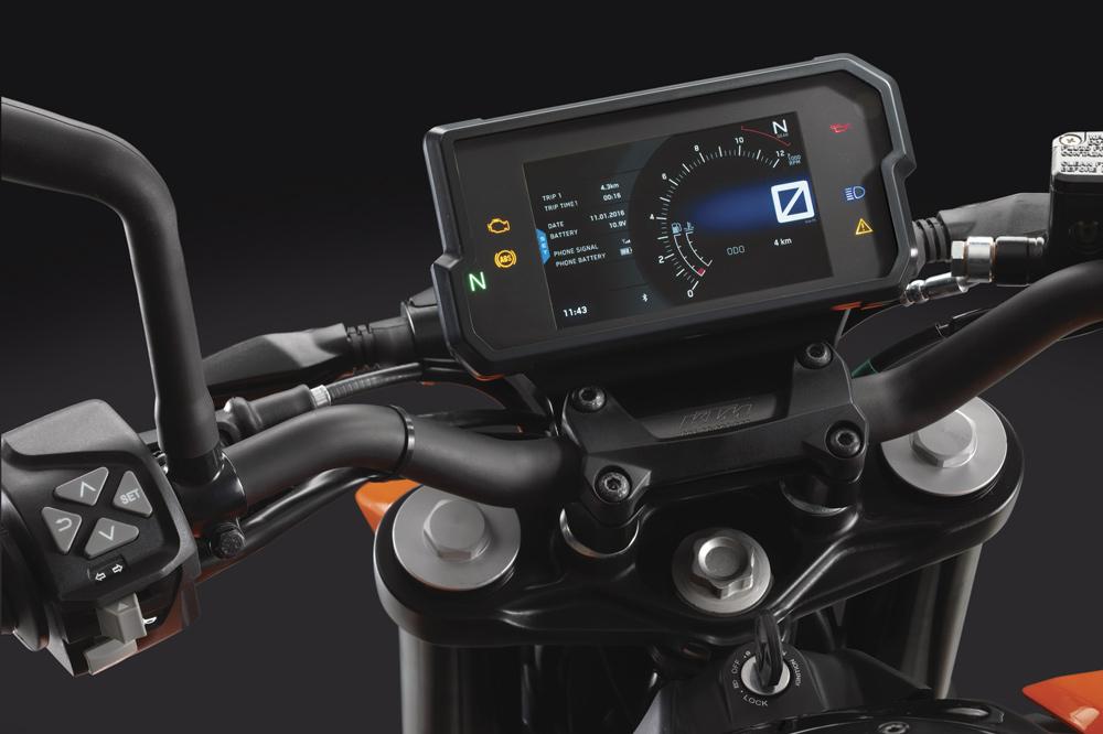 KTM Duke 390 2017 Cuadro de Instrumentos