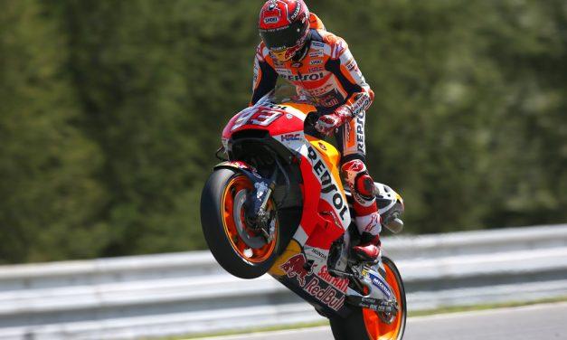 Pole para Marc Marquez en el GP de República Checa
