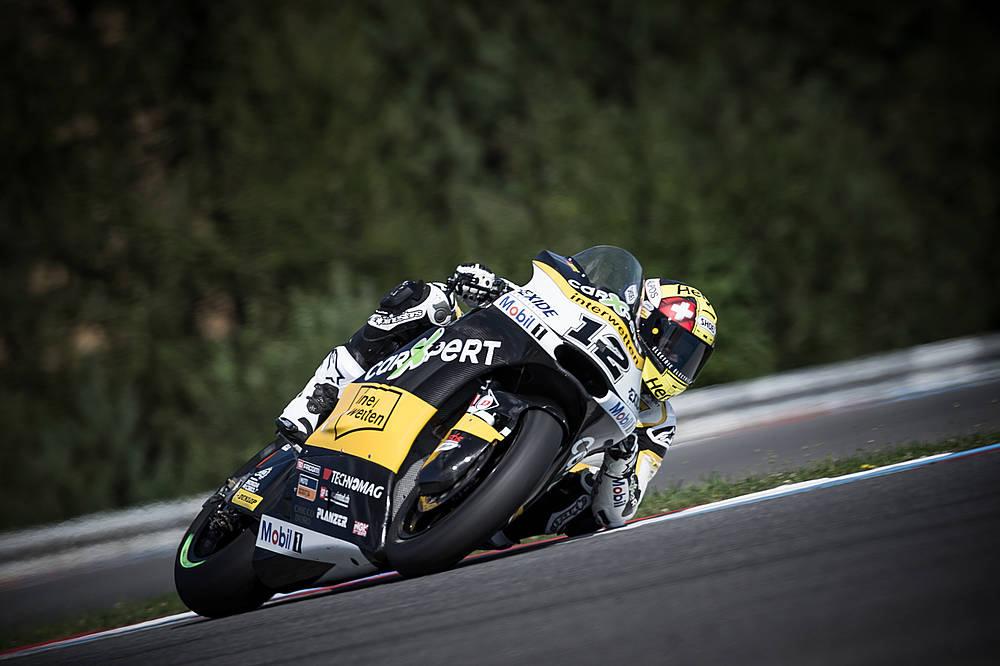 Victoria de Thomas Luthi en la carrera de Moto2 de República Checa