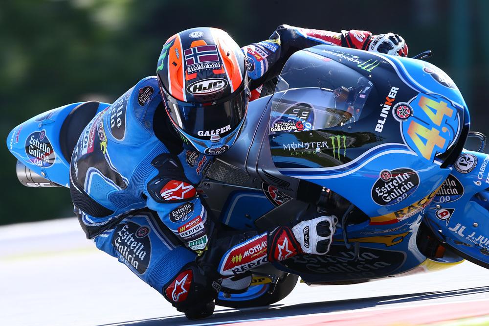 Victoria de Aaron Canet en Moto3 en el GP de Gran Bretaña