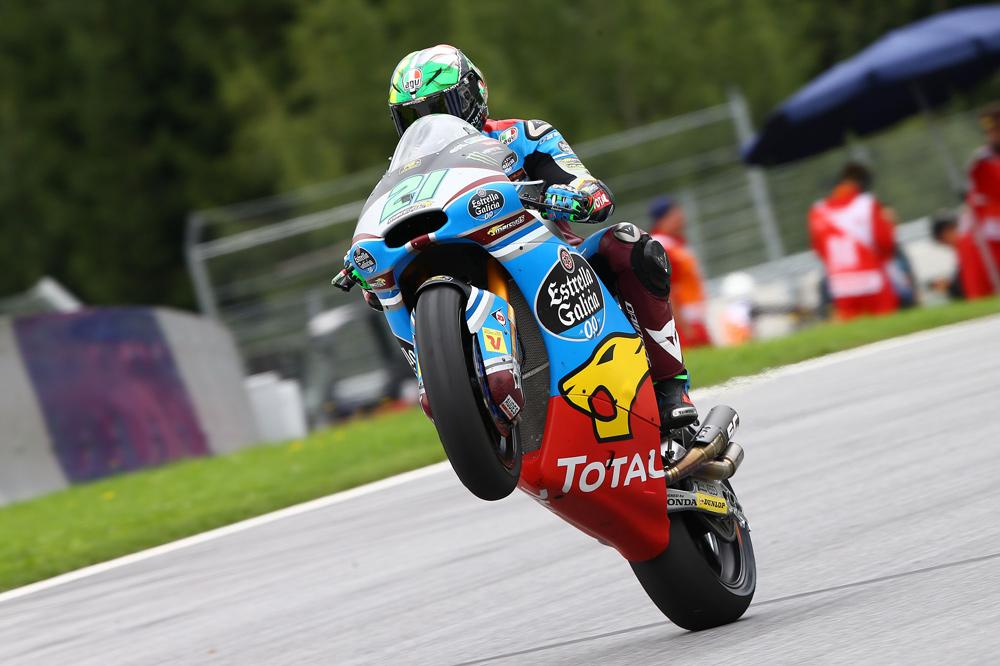 Victoria de Franco Morbidelli en el GP de Austria