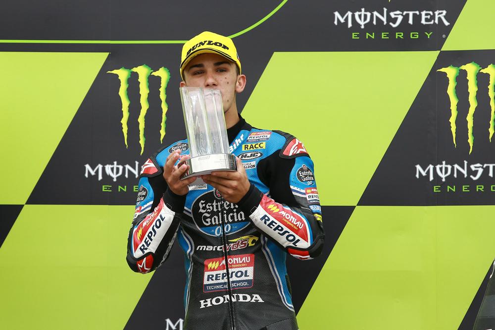 Victoria de Joan Mir en la carrera de Moto3 del GP de República Checa