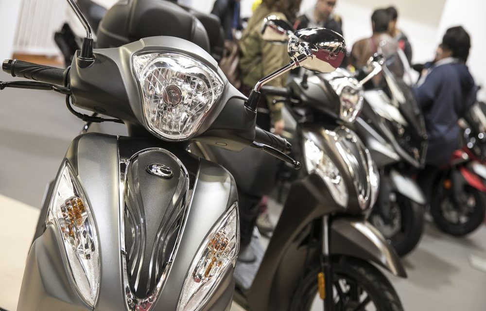 Matriculaciones de motocicletas en España cayeron un 3,2 por ciento en agosto