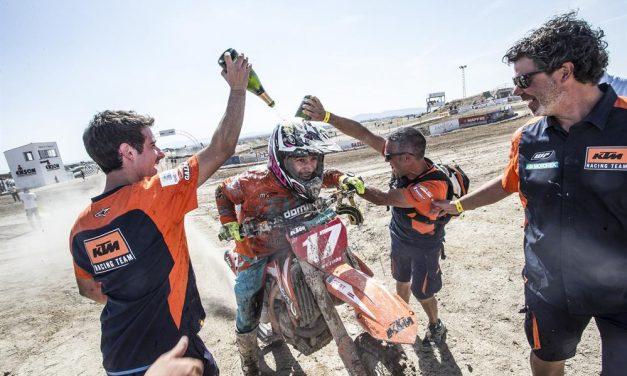 José Antonio Butrón: Campeón de España de Motocross Elite MX1 2017
