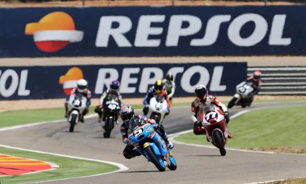 Jornada entrenamientos de Moto2 y Moto 3 en MotorLand Aragón