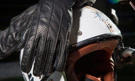 Guantes de piel para moto Seventy Degrees