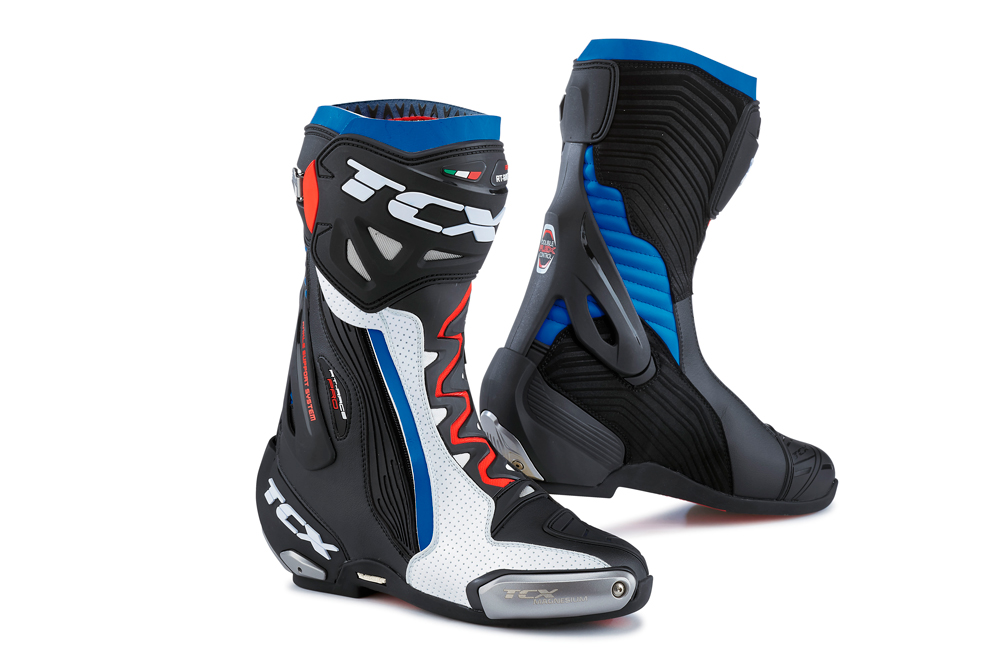 Suela Michelín botas RT Race Pro Air de TCX azul