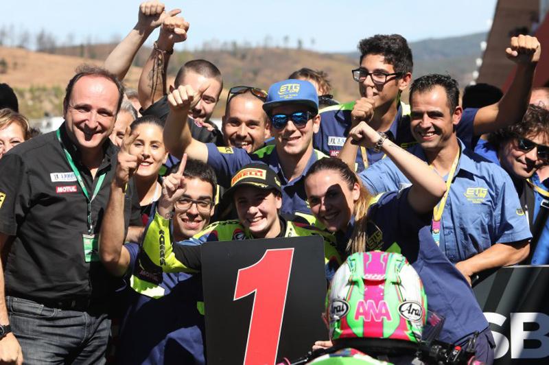 Ana Carrasco, victoria en el Mundial de Supersport 300