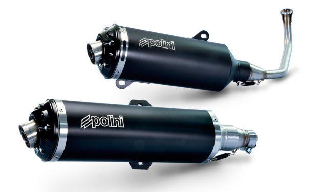 Escapes Polini para Piaggio MP3 y Honda SH 125/150