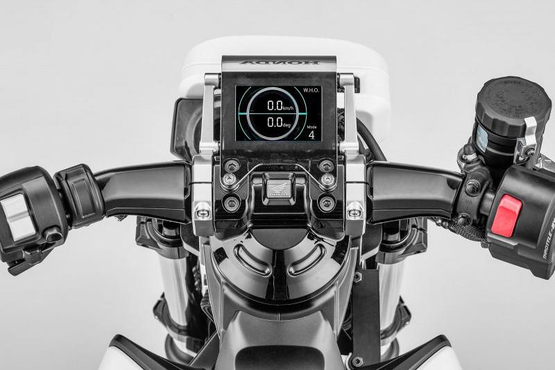 Honda Riding Assist E Concept Cuadro de Instrumentos