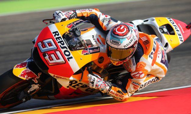 Gran Premio de Aragón: Marquez, Pedrosa y Lorenzo en MotoGP