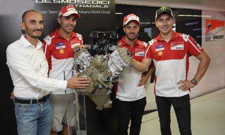 Ducati Desmosedici Stradale: Así será su motor
