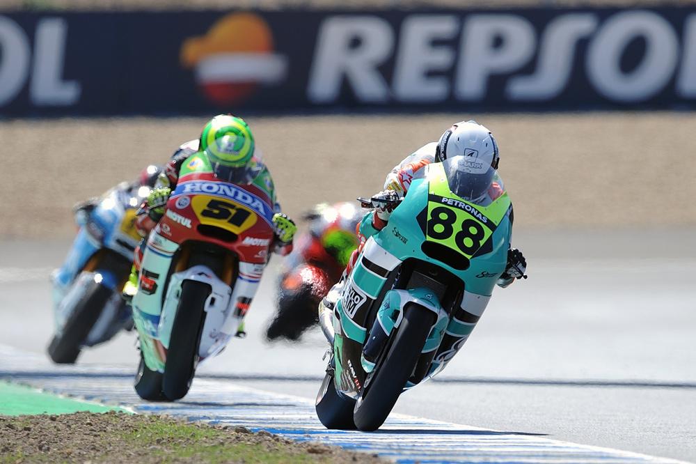 Ricky Cardús, victcoria en Moto2 en el FIM CEV Repsol