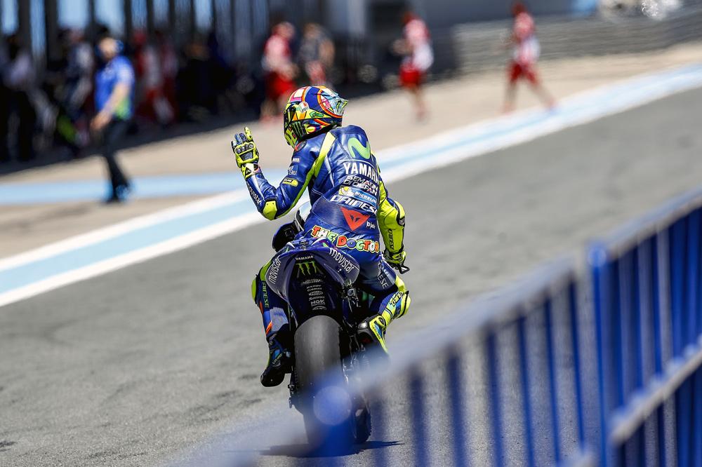 Valentino Rossi vuelve en Motorland Aragon
