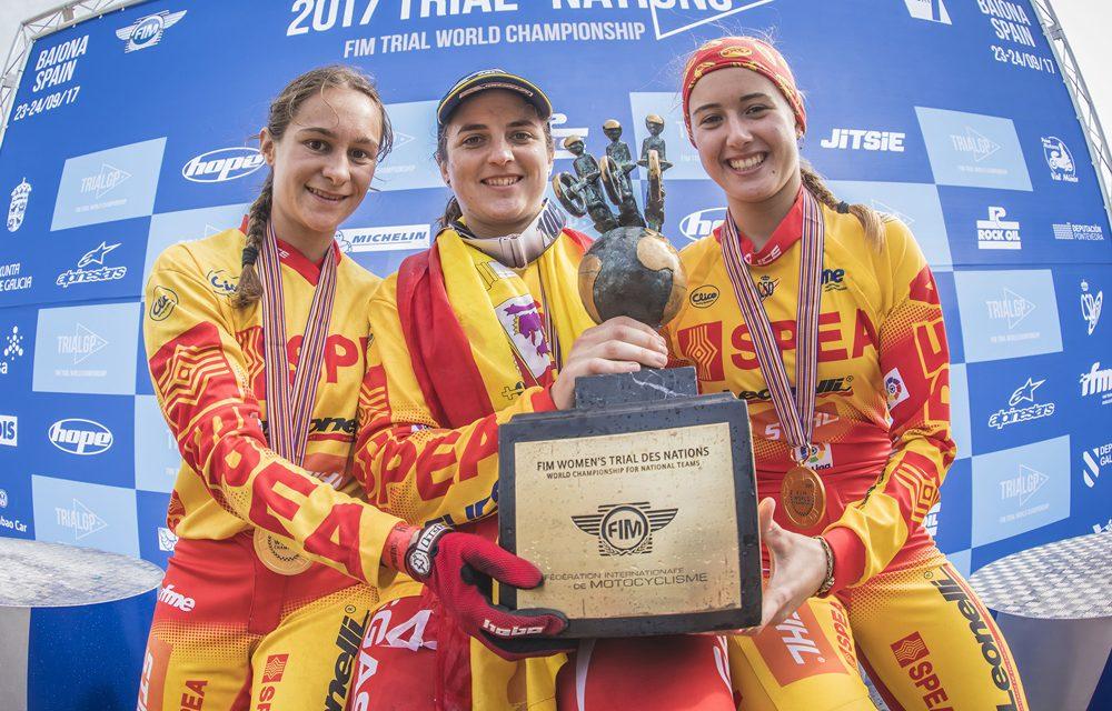 Trial de las Naciones 2017 Femenino: España Campeona del Mundo