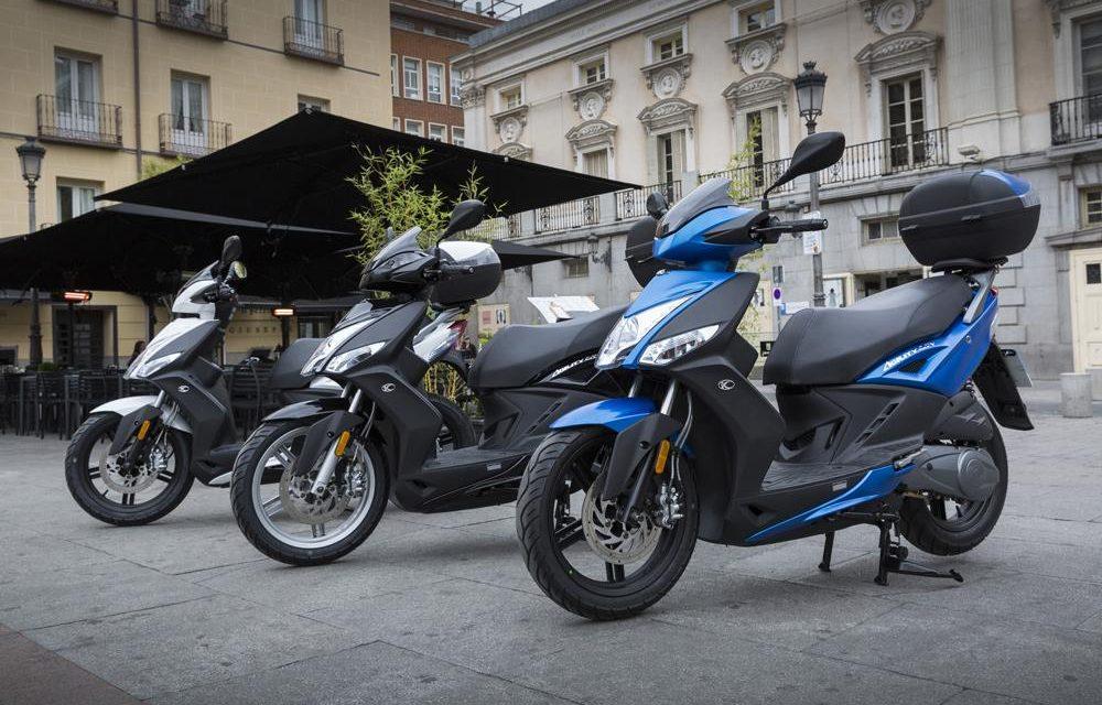 Las matriculaciones de motos descienden un 14,4 por ciento en septiembre
