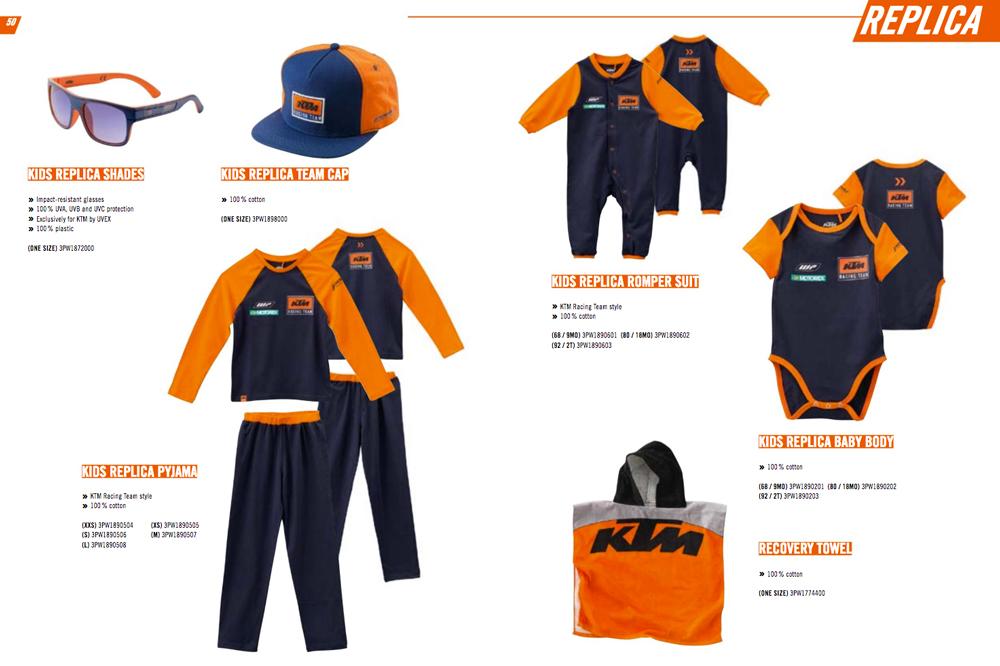 Colección Replica KTM 2018