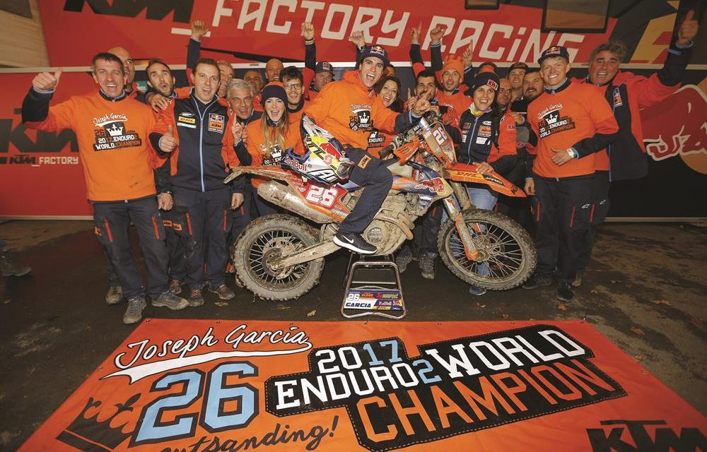 Josep García se corona Campeón Mundial de Enduro2