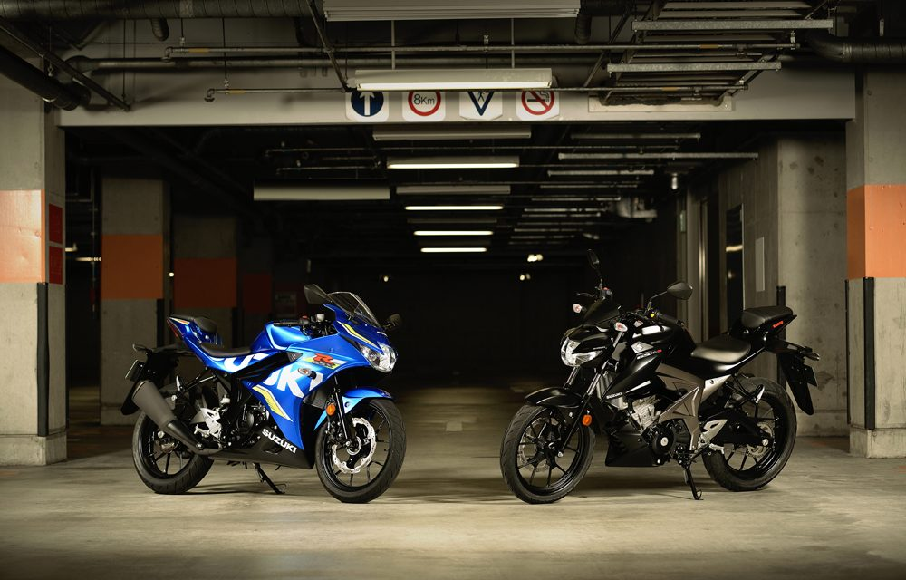 Las nuevas Suzuki GSX-R125 y GSX-S125 ya están en el mercado