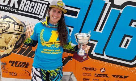 Sara Coloret, nueva Campeona de España de Motocross