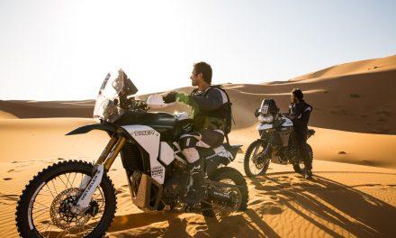 Los hermanos López Córdoba conquistaron el desierto africano con su Tiger Tramontana