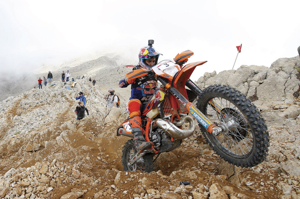 Alfredo Gomez fue cuarto en la Red Bull Sea to Sky