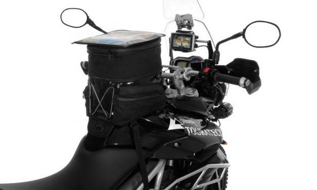 Bolsa sobre depósito Black Edition para Triumph Tiger 800 de Touratech