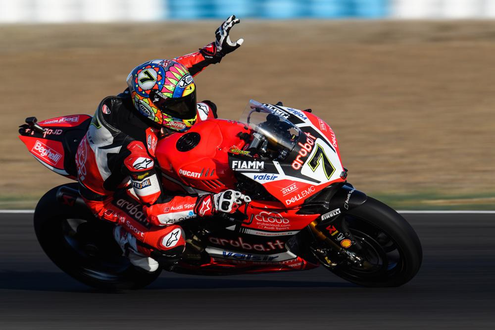 Tras las carreras de Jerez Chaz Davies tiene algo más cerca el subcampeonato del mundo SBK