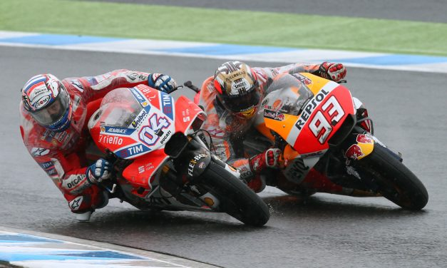 MotoGP: GP de Japón. Recital de Márquez y Dovizioso