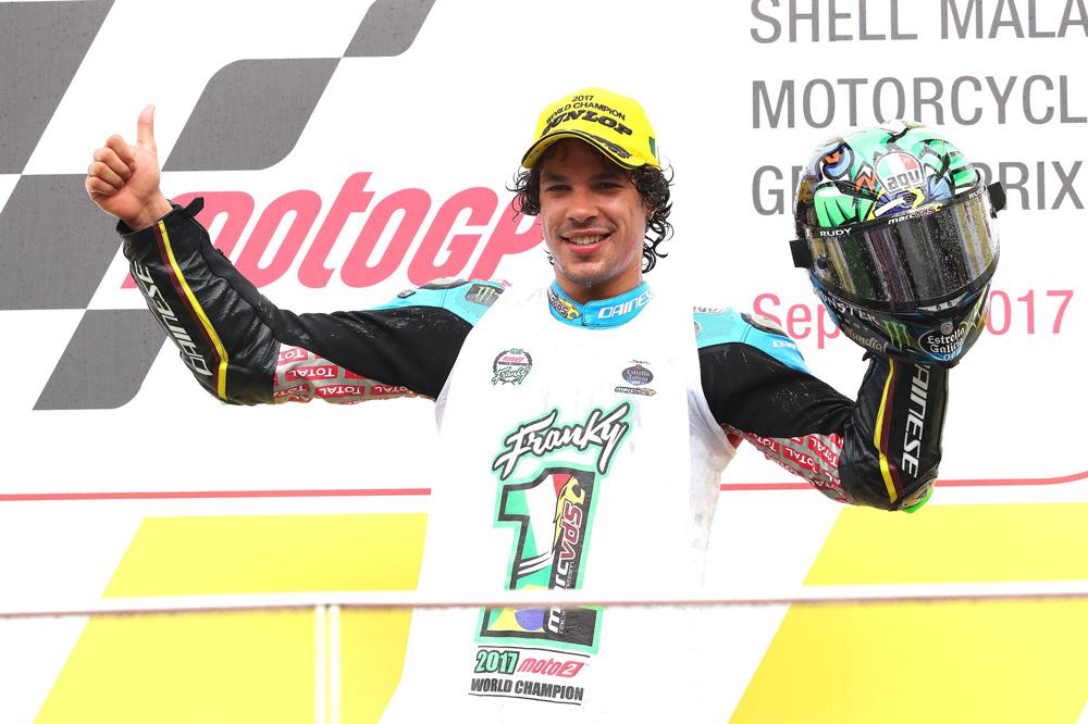 Franco Morbidelli, campeón del mundo Moto2 2017