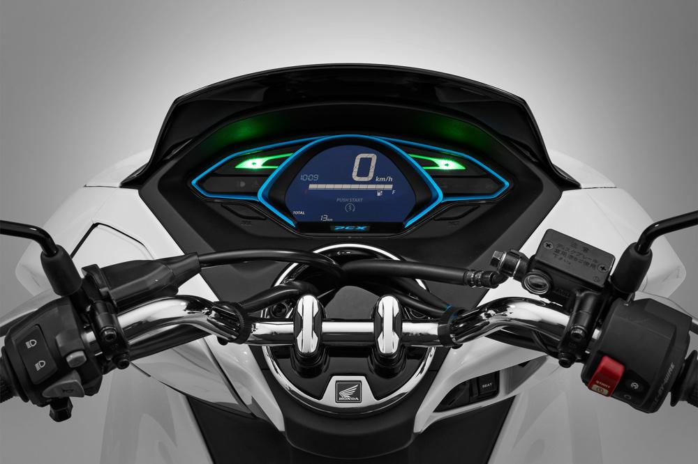 Honda PCX Electrico, cuadro de instrumentos