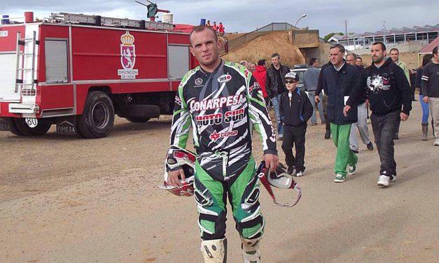 Fallece Jesús Barragán durante un entrenamiento de Motocross