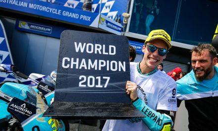Joan Mir, campeón del mundo Moto3