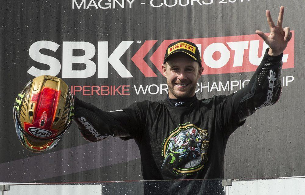 Jonathan Rea, triple Campeón del Mundo SBK