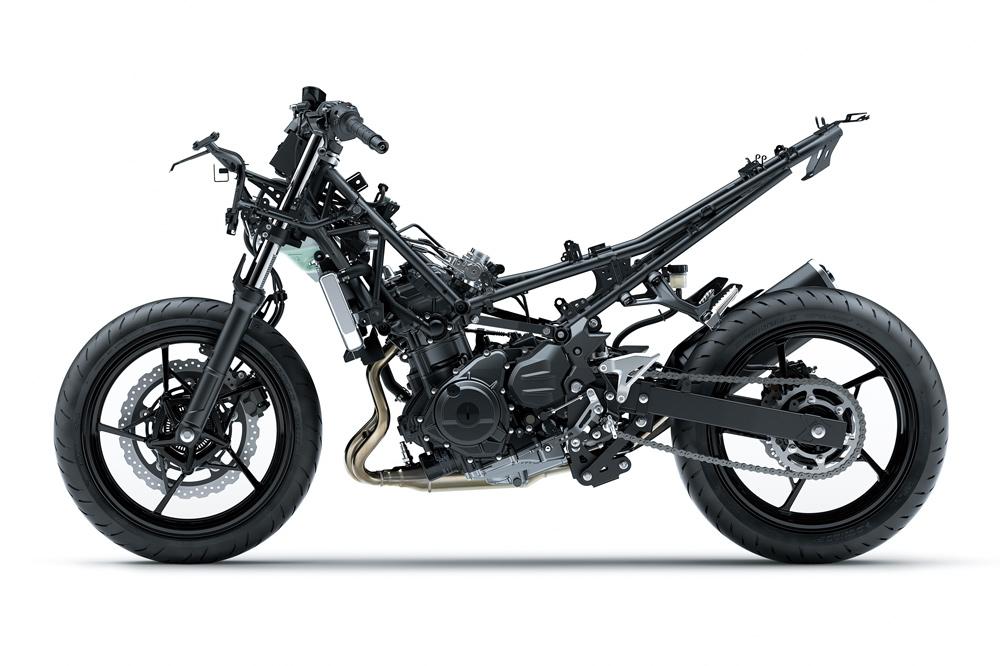 Kawasaki NInja 400, nuevo chasis mas ligero