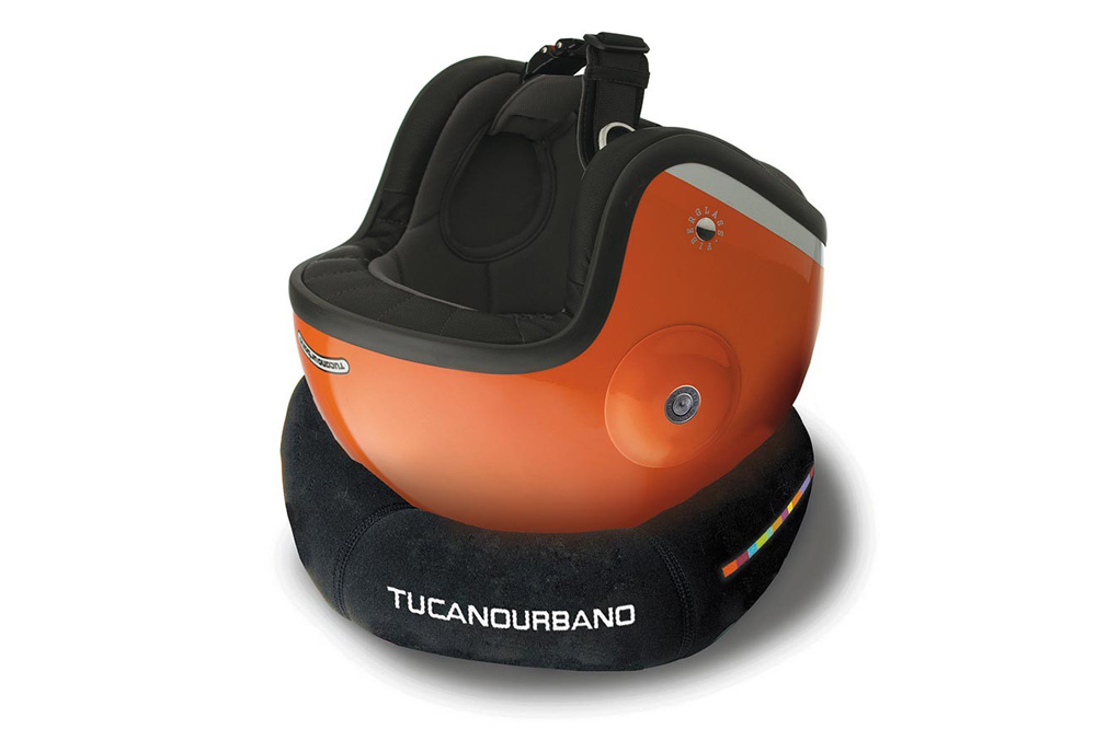 Soporte para casco Tucano Urbano