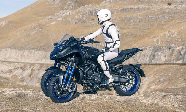 Yamaha Niken: ¿scooter, coche, moto o nueva especie?