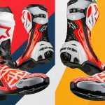 """Homenaje a Dani Pedrosa de Alpinestars con sus botas edición limitada """"Samurai"""" Supertech R"""