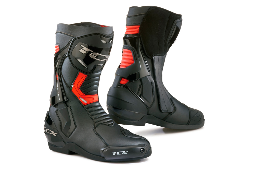 Botas ST-Fighter de TCX en rojo y negro