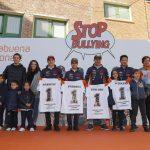 Los Campeones del Mundo del Repsol Honda se unen contra el acoso escolar