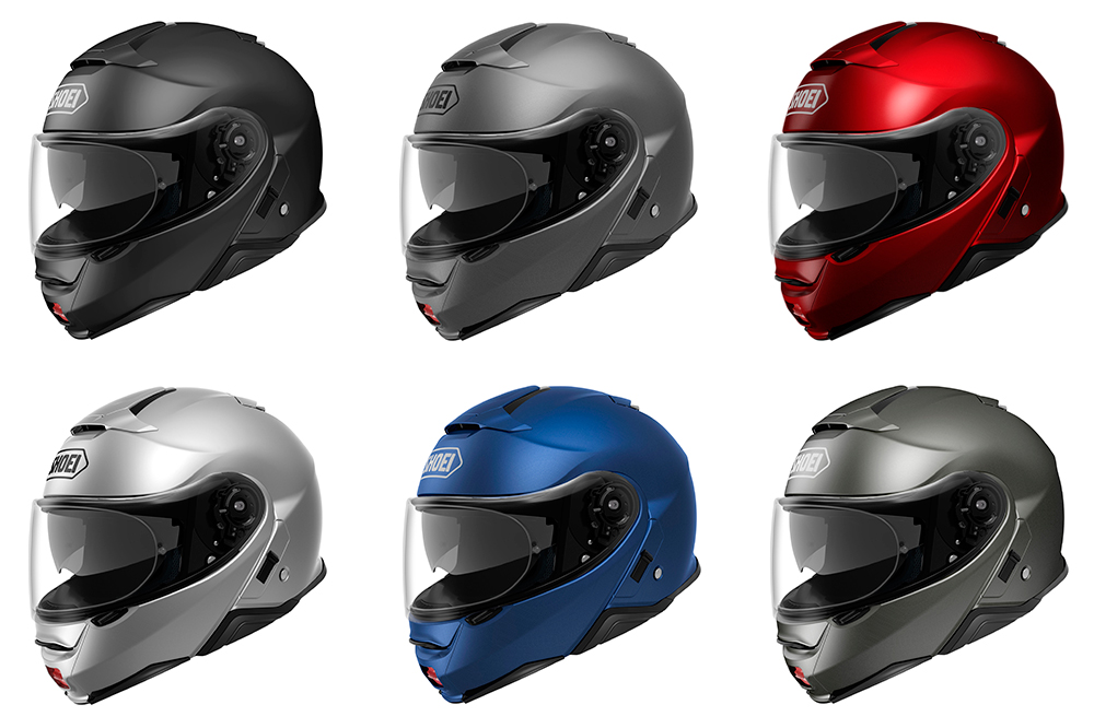 Casco Shoei NEOTEC II colores lisos mate