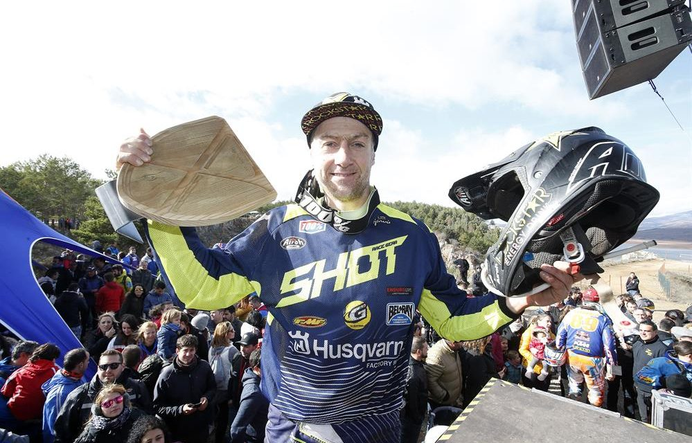 Graham Jarvis, campeón del Hixpania Hard Enduro 2017