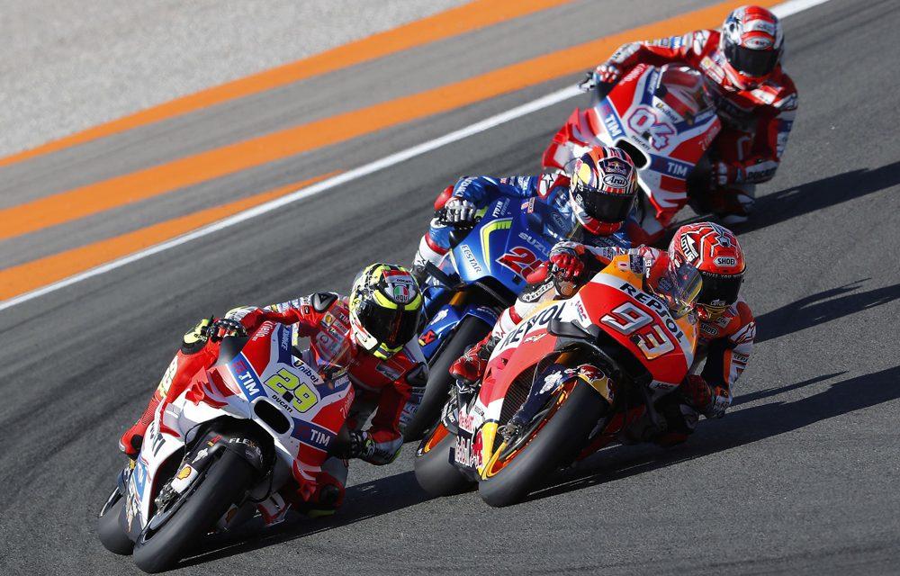El Campeonato del Mundo de MotoGP cierra su temporada 2017 este fin de semana en Valencia