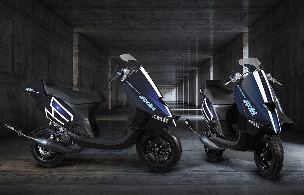 Polini Motori presenta el 100 Big Evolution