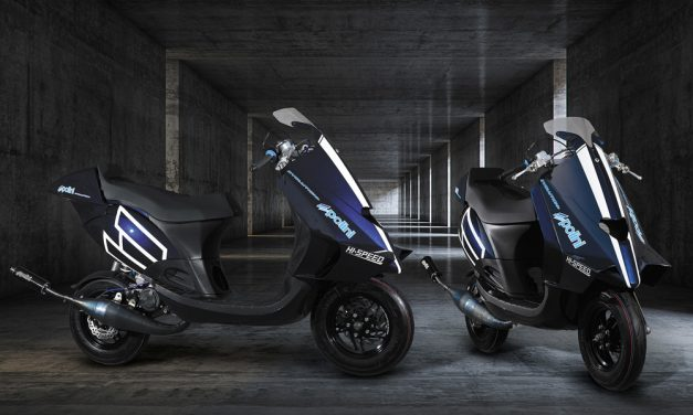 Polini Motori presenta el 100 Big Evolution