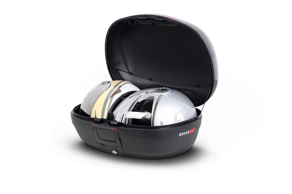 Baúl moto SHAD SH46 interior cascos